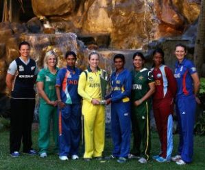 The Women's World Cup Cricket 20/20 begins in 4 days time